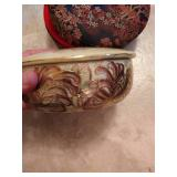 Jewelry Box & Painted China Box