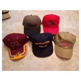 Lot of 5 Caps - Like New Gophers Cap