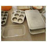 Large Lot of Bakeware