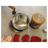 Vintage Tartlet Pans & Cookie Cutters