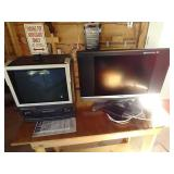 2 TVs