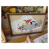 Art, Needlework, Cross Stitch Lot