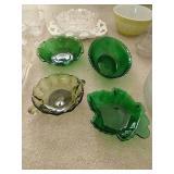 Glass, Pottery Lot, Pyrex, Etc.