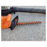 Craftsman Gas Blower & Black & Decker Electric Hedge Trimmer
