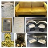 Vintage MCM Designer Lucite and More- Bidding ends 10/22