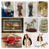 LOVELY LADIES, ASHTON-DRAKE COLLECTIBLES AND DISNEY- ENDS 6/2