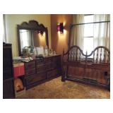 dresser and bed frames