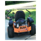 48 inch cut Scag mower only 40 hours