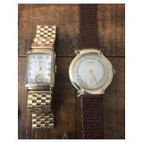 Solid 14k bulova & longines watches