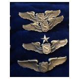 WWI - Vietnam Pilot Aviation Wings