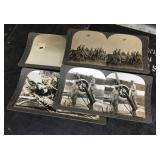 Military stereoscope images