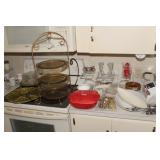 Pyrex, Ash Trays, Serving Platters
