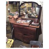 basement - oak dresser