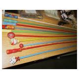 Vintage Carnival Sticks