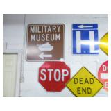 Military & Metal Road Signs