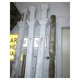 Antique Porch Post