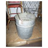 Galvanized Bucket Large