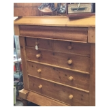 European Raw Wood Dresser