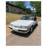 1989 25th Anniversary Ford Mustang