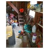 barn, lawn/garden supplies