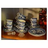 Vintage Blue Willow