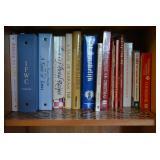Many, many cookbooks!
