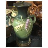 rare roseville lamp not a vase