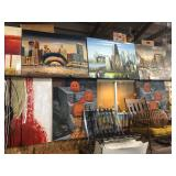 oil paintings canvas contemporary