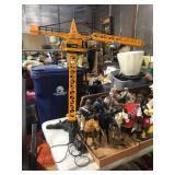 giant toy crane
