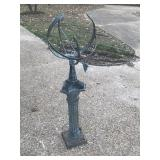 Armillary Sundial on Pedistal