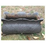 2-Cast Iron Planters (old)