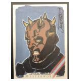 STAR WARS MASTERWORK SKETCH CARD ORIGINAL ARTWORK