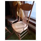 Nice wood chairs set of 4