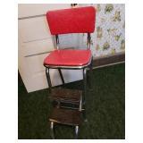 Vintage step stool Mid Century