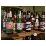 Different beer  Collection Bottles