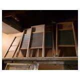 Antique wash Boards