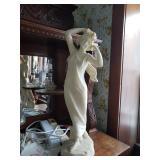 Large marble Lady