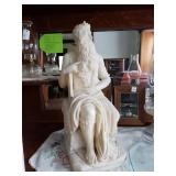 Large Marble Moses