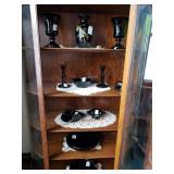 Antique China Glass Curio