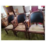 Antique Bank Chairs