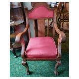 Antique statement chair