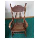 Antique Kids Rocker