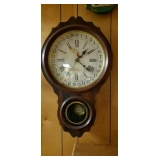 8 Day Antique School House Clock