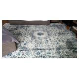"Large area rug 8""9 by 12""2 $125.00 plus 7"