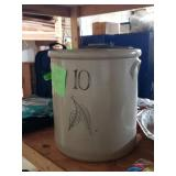 #146 10 Gallon Red Wing Crock $110.00