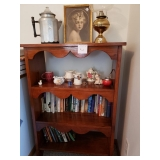 #124 asking $60.00 Book shelf