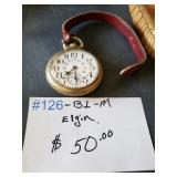 #126 Elgin Watch $50.00