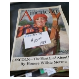 #144 American Magazine 1928 - $10.00