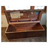 Cedar chest asking $75.00