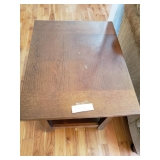 #120 end table